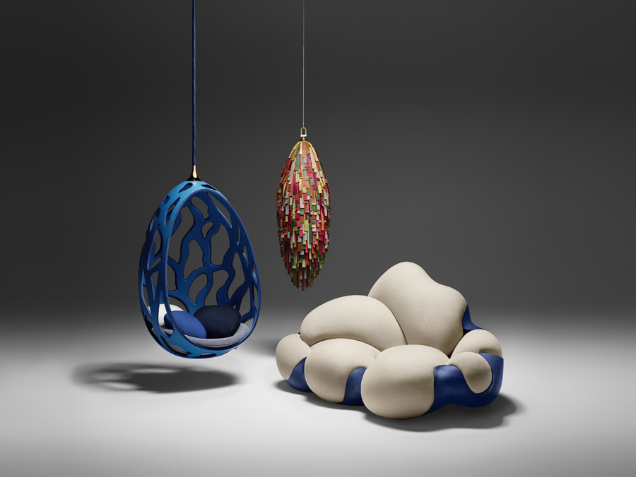 Works by Campana Brothers to be on show at the Objets Nomades collection