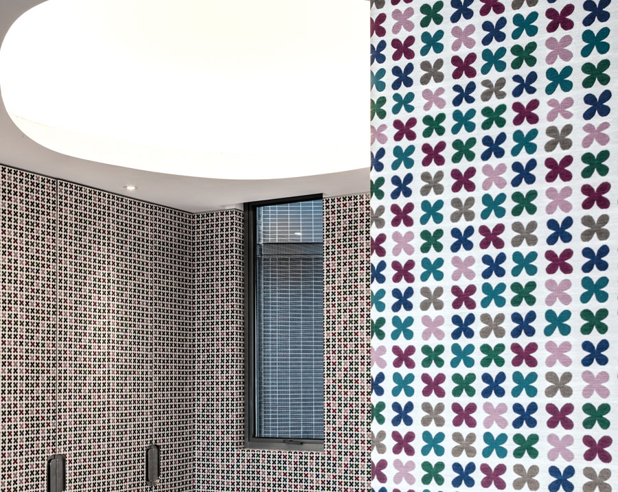 Meticulous attention to detail can also be considered a mark of luxury – take the floral-inspired bathroom mosaic, for example