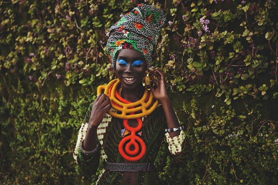 Afrigarde's beautiful accessories are imbued with traditional influences