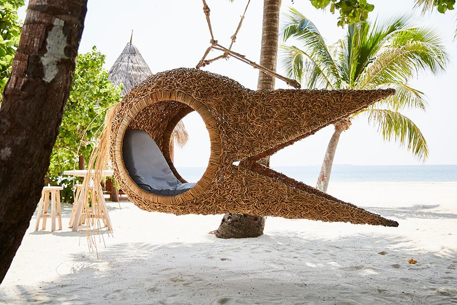 In This Luxe Resort in the Maldives, Guests are Surrounded by Art on Every Corner