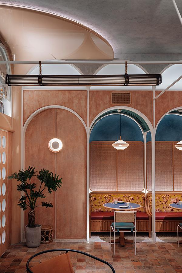 John Anthony: A Sustainably Designed Restaurant Brimming With Colour & Texture