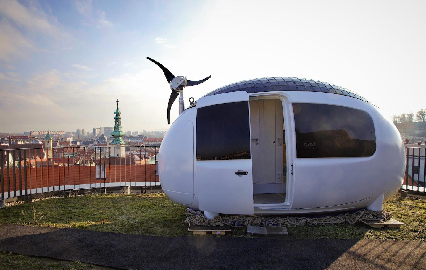 Ecocapsule at Design Pavilion