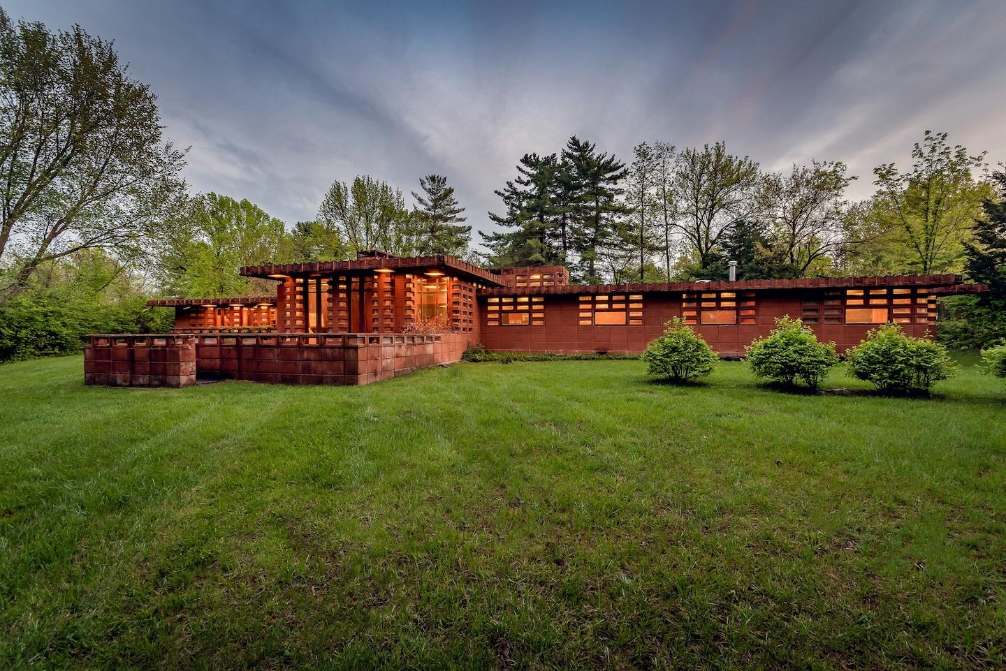 This historic property will be available to purchase for the first time ever, presenting a once-in-a-lifetime opportunity for someone to own a Frank Lloyd Wright home.