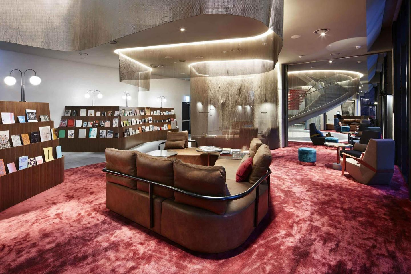The Print Culture Lounge is a dreamland for all book lovers (Photography: Yongkwan Kim)