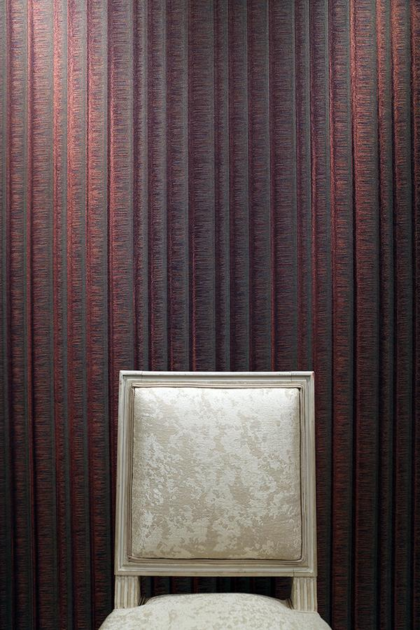 Upholstery and wall covering by TheSign. (Photo: Courtesy of TheSign)
