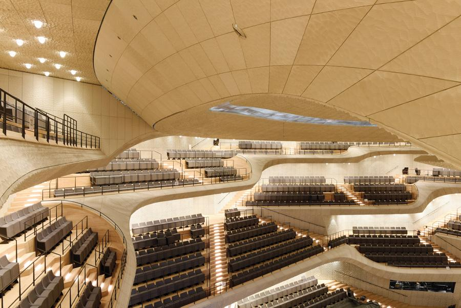 Nicknamed the Elphi, it is one of the largest and acoustically most advanced concert halls in the world