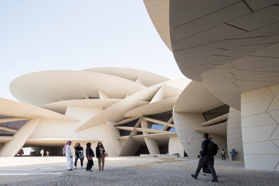 The Jean Nouvel-designed National Museum of Qatar opened this year