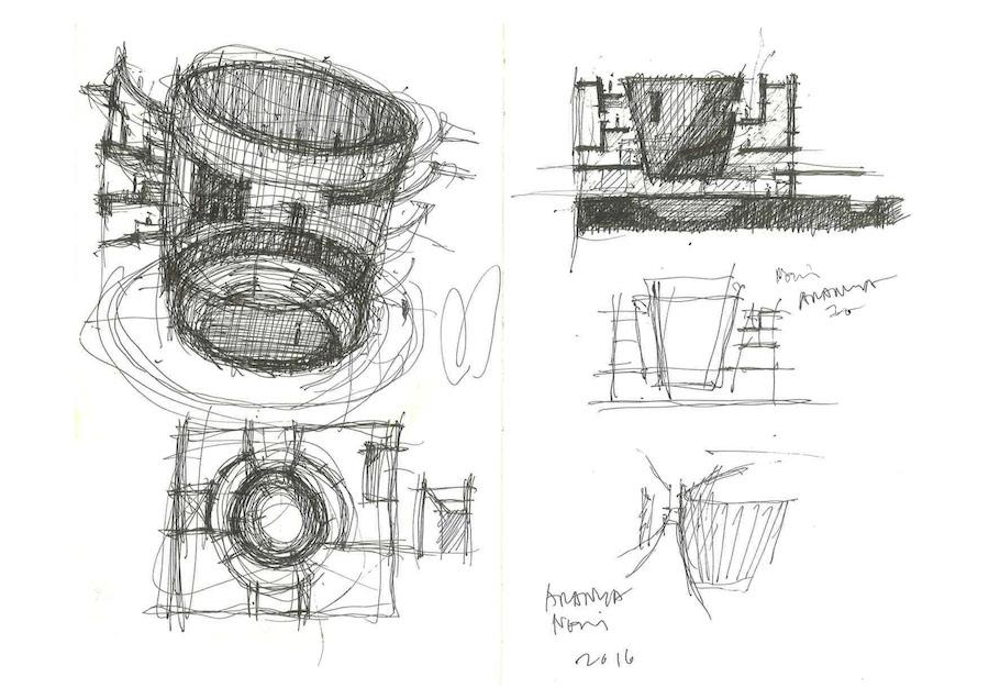 Neri Amp Hu S Design Of The Aranya Art Center In China