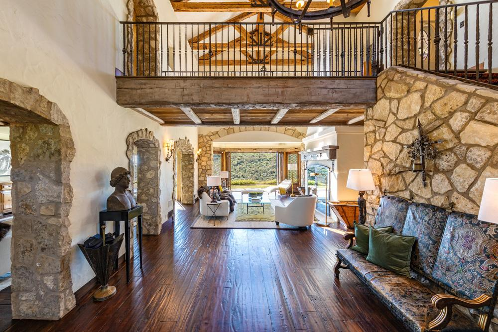 Inside Mel Gibson's Rustic Haven in Malibu
