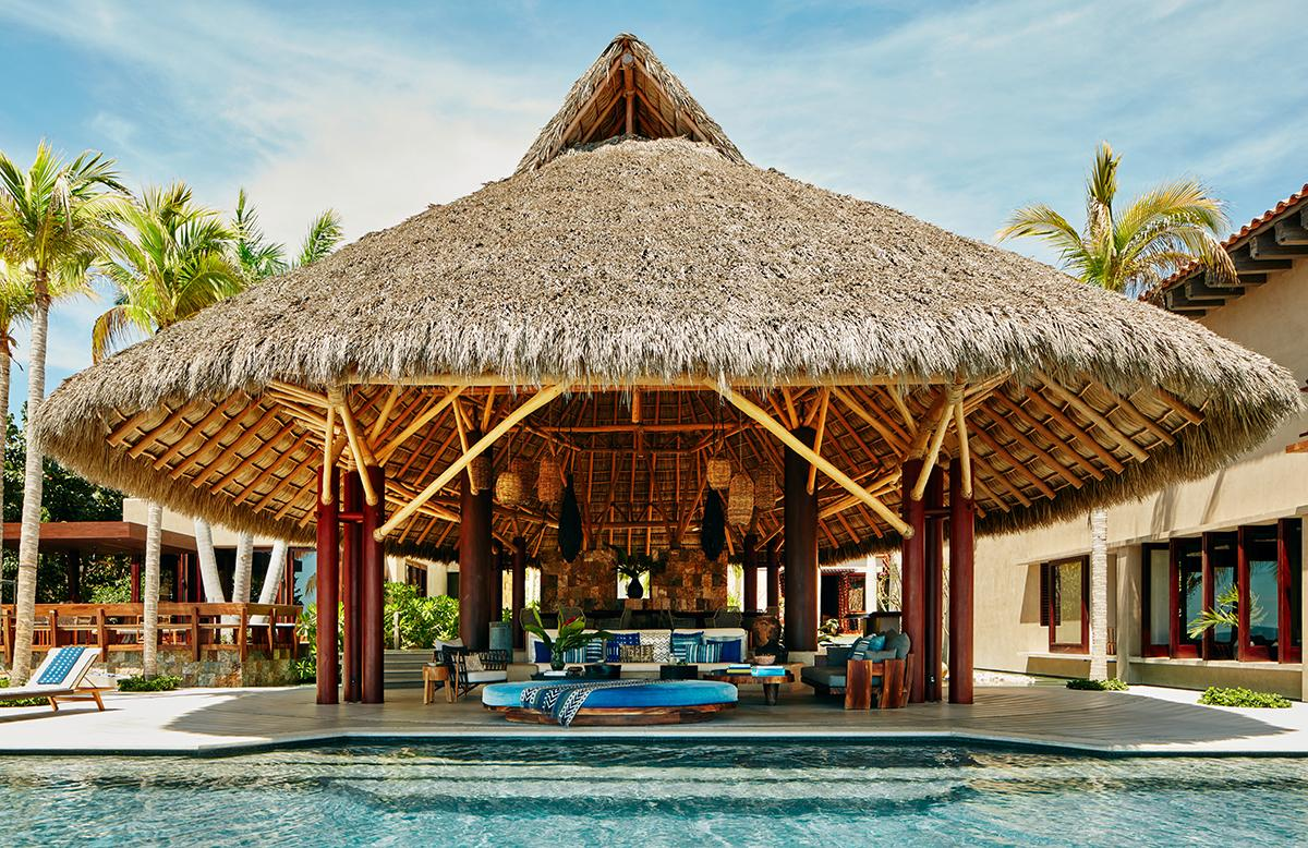 Casa Koko in Punta Mita, Mexico. (Photo: Courtesy of AirBnb)