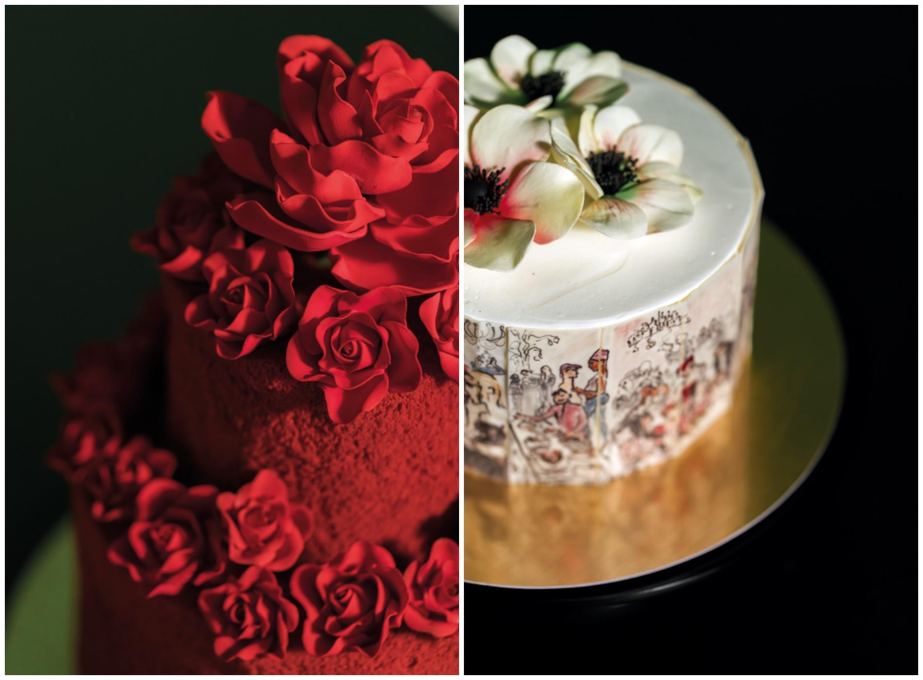 Each of Sevva's bespoke cakes are scrumptiously moist and artfully decadent