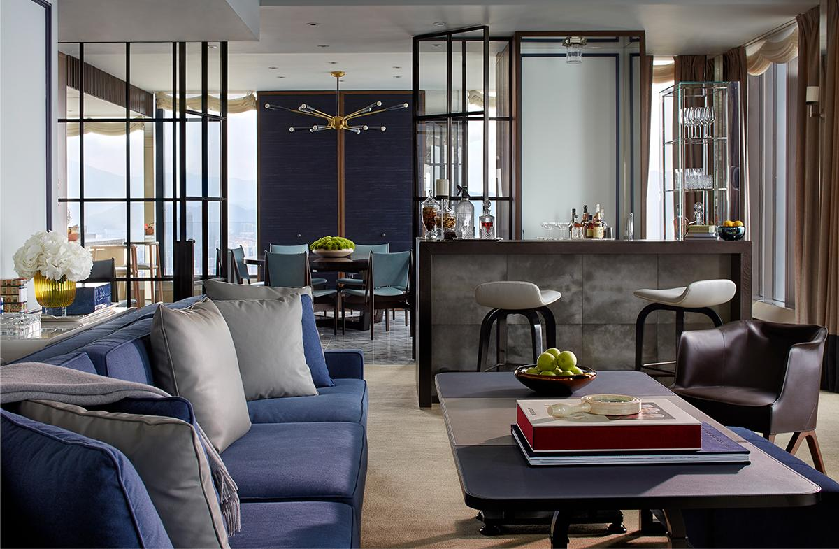 One of the penthouses at Rosewood Residences. (Photo: Courtesy of Rosewood Hong Kong)