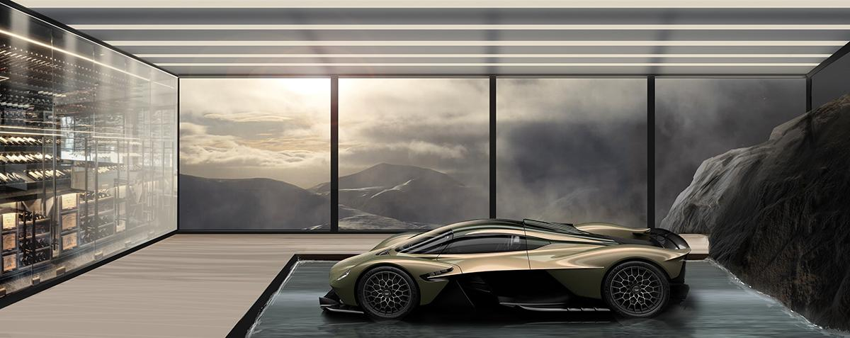 Aston Martin Is Now Designing Homes That Spotlight Your Car Home Journal