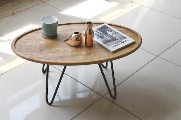 SPRUE Furniture Ash Ellipse Coffee Table