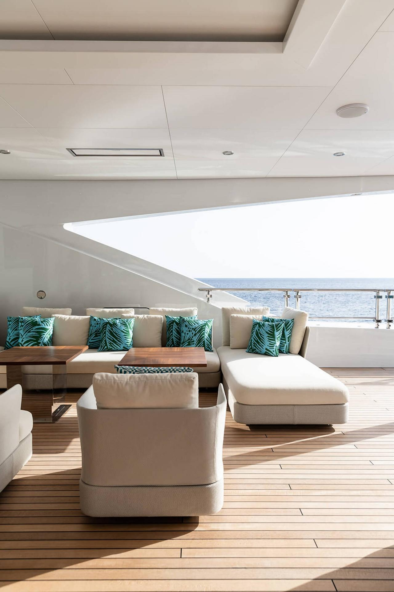 This Custom Benetti Yacht Could be Mistaken for a Lavish Mansion