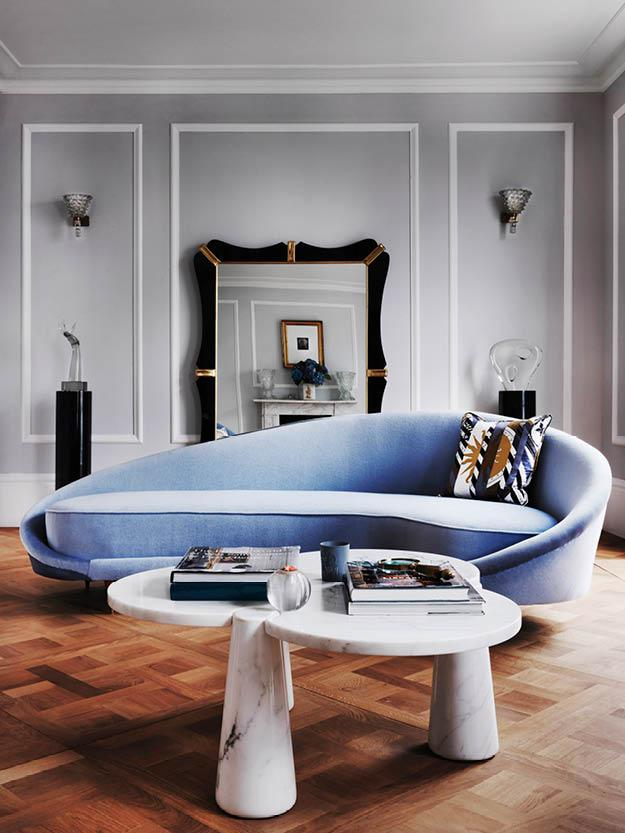 Step Inside a Glamorous London Home that Belongs to a Supermodel and Her Husband
