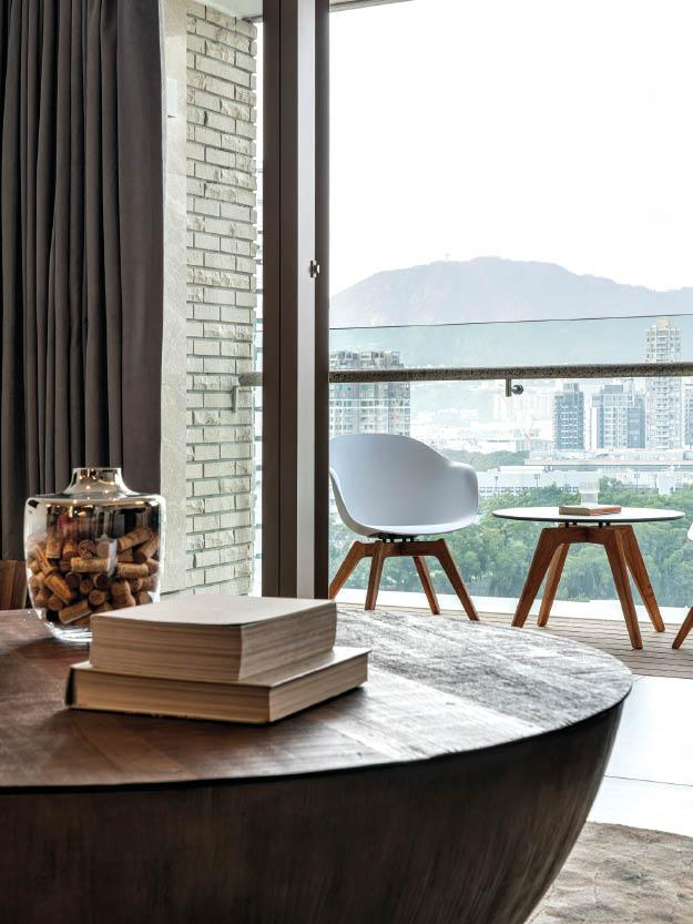 Inside a Dramatic Hong Kong Residence Belonging to a Newly Wedded Couple