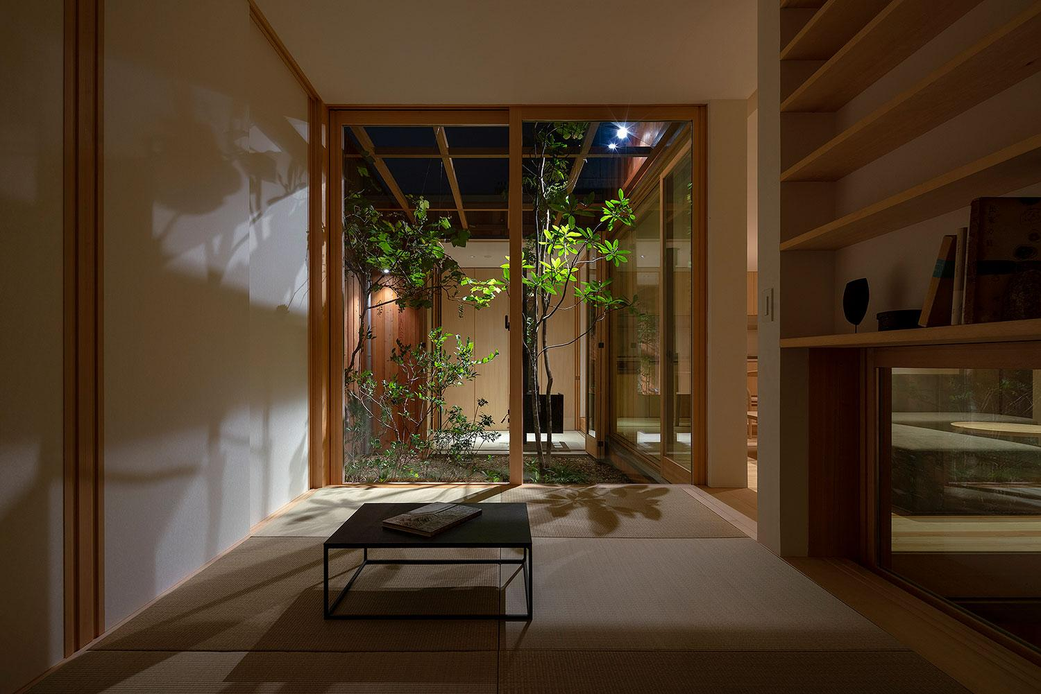 Experience the Beauty of All Four Seasons in this Wooden Bungalow in Japan