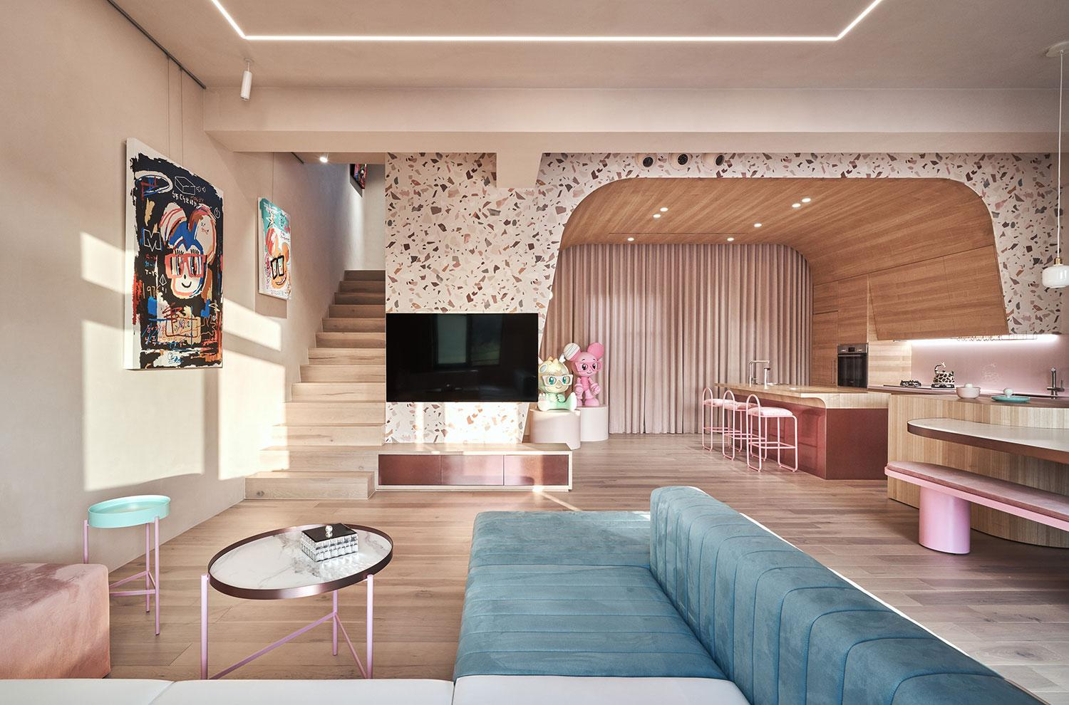 A Pink-Hued Holiday Villa in Taiwan Dedicated to Cats