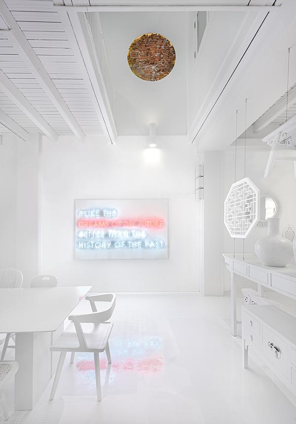 A White Beauty in Singapore at Canvas House