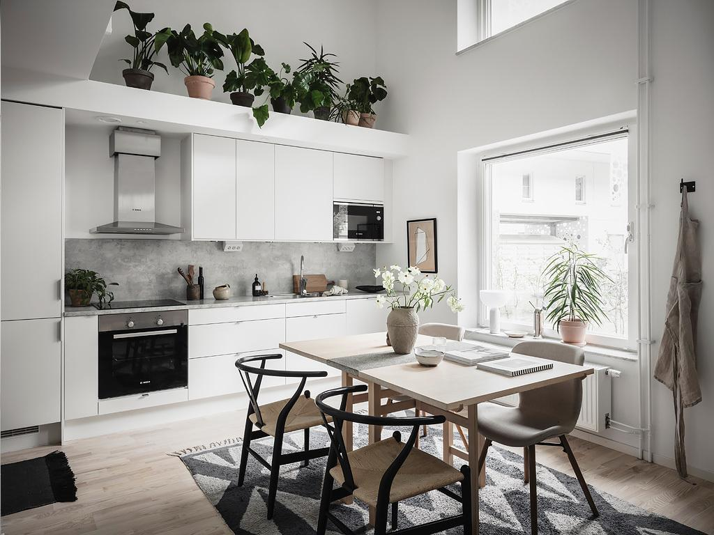 Steal Some Decor Ideas From This Small Duplex Apartment In Sweden Home Journal