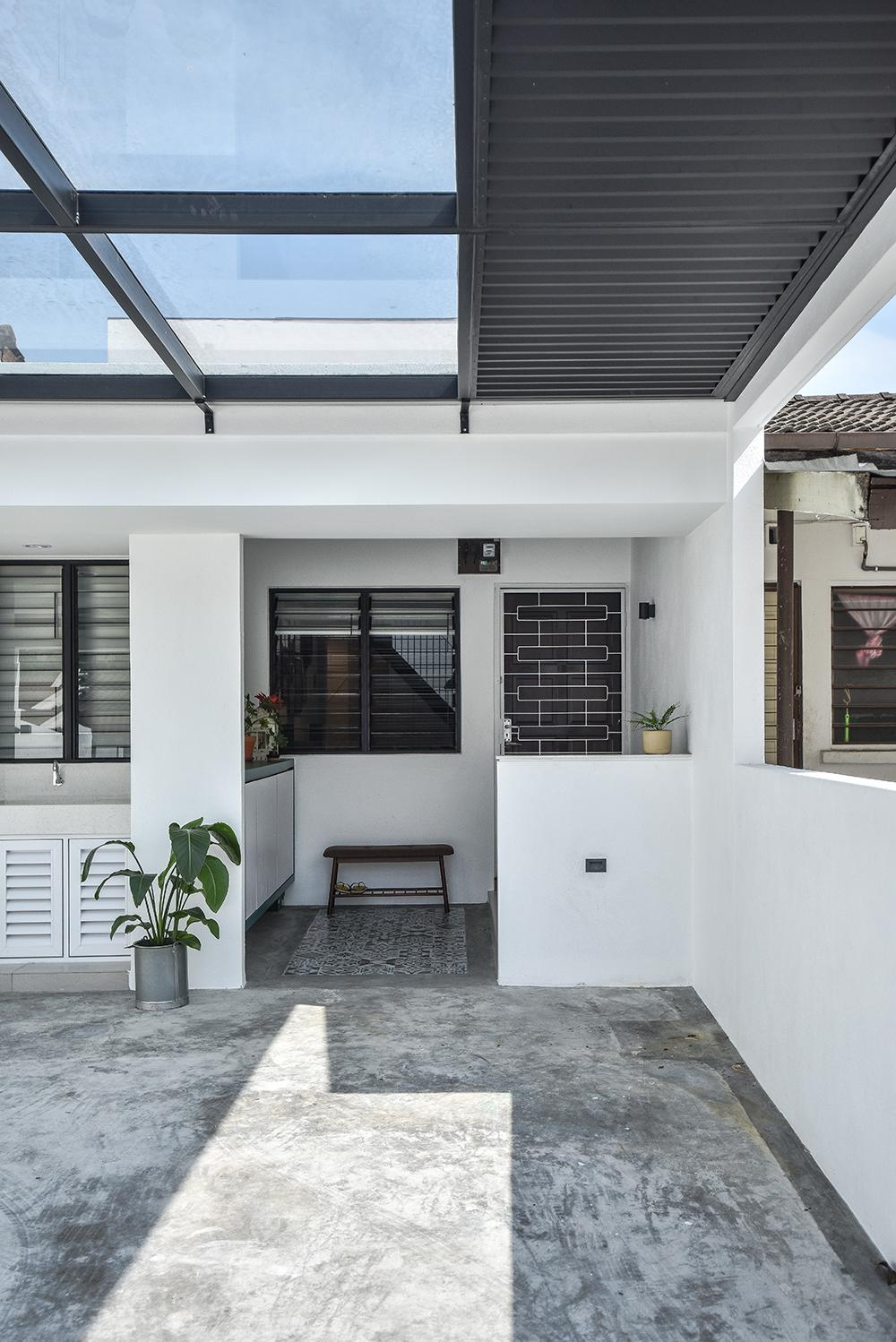 A Sun Filled Modern Terrace House Reminiscent Of Older Penang Homes Home Journal